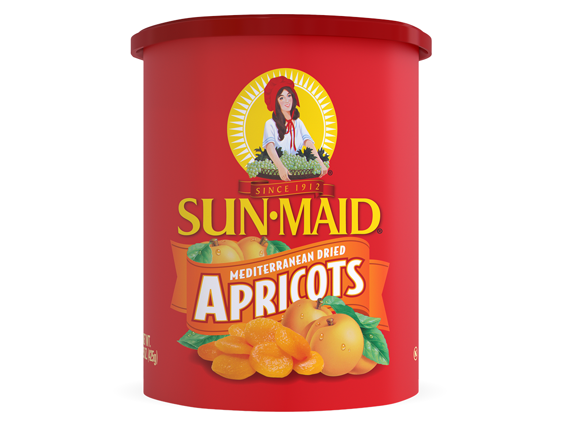 Sun-Maid Mediterranean Apricots 15 oz. canister