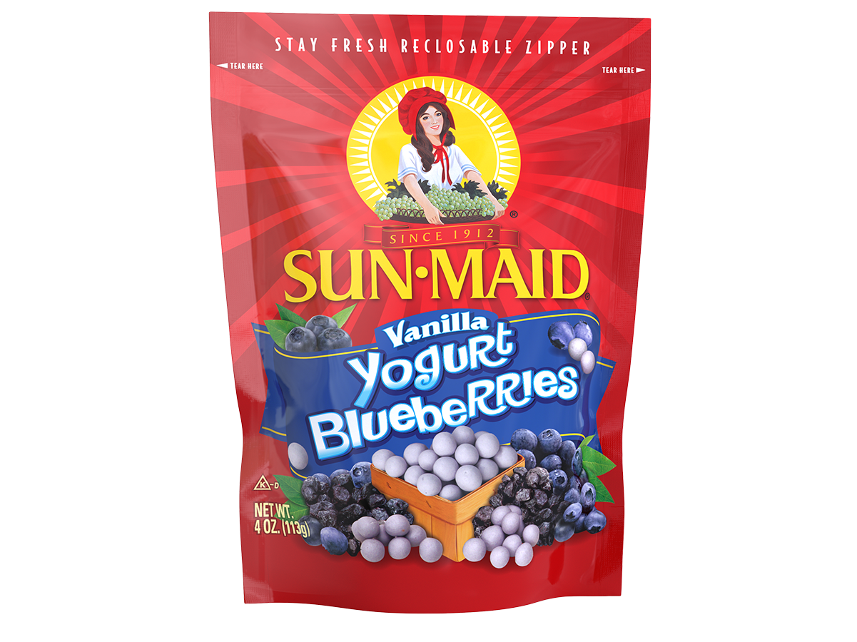 Sun-Maid Vanilla Yogurt Blueberries 4 oz. bag